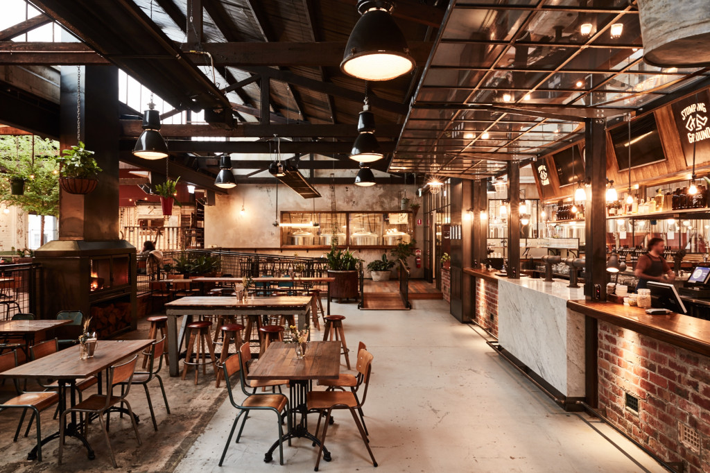 Stomping Ground beer hall