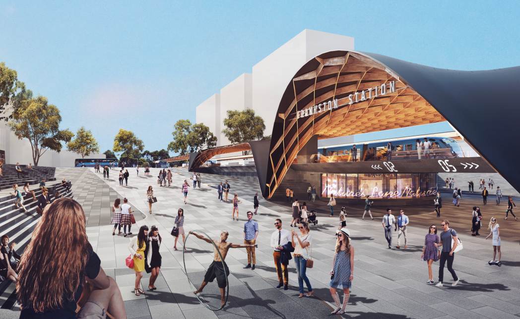 Five architects shortlisted for Frankston Station redesign