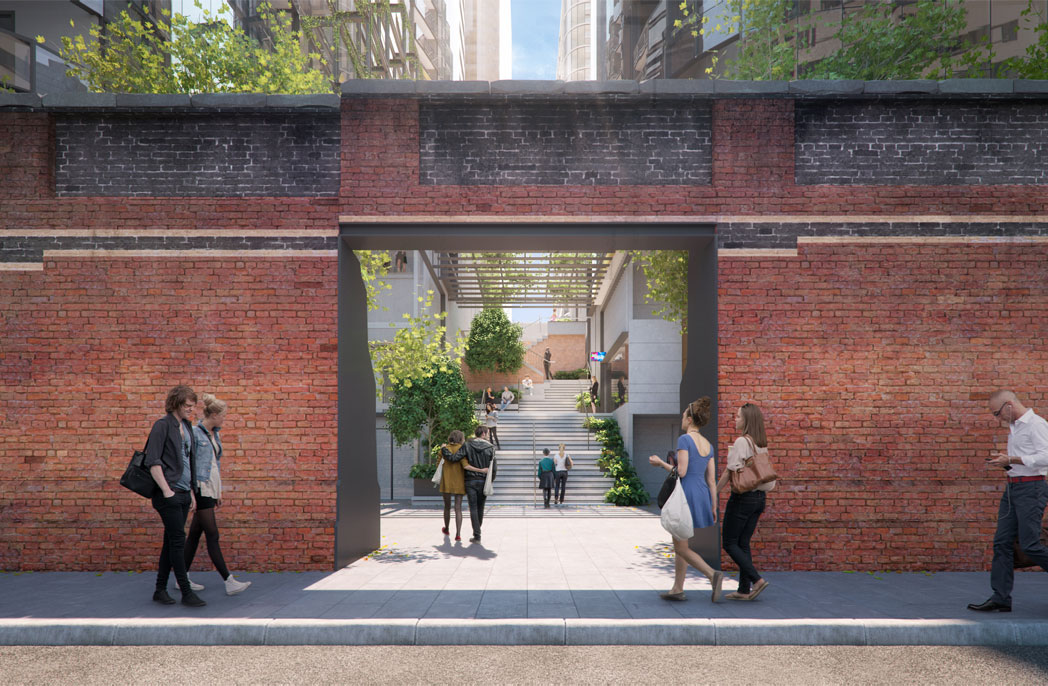 Melbourne Quarter to include restoration of 126-year-old wall