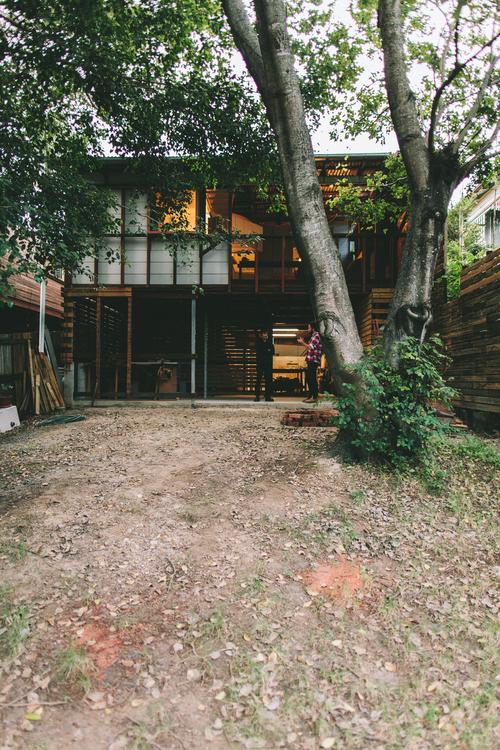 Nielsen Workshop's East Brisbane house. Photo courtesy the architect.