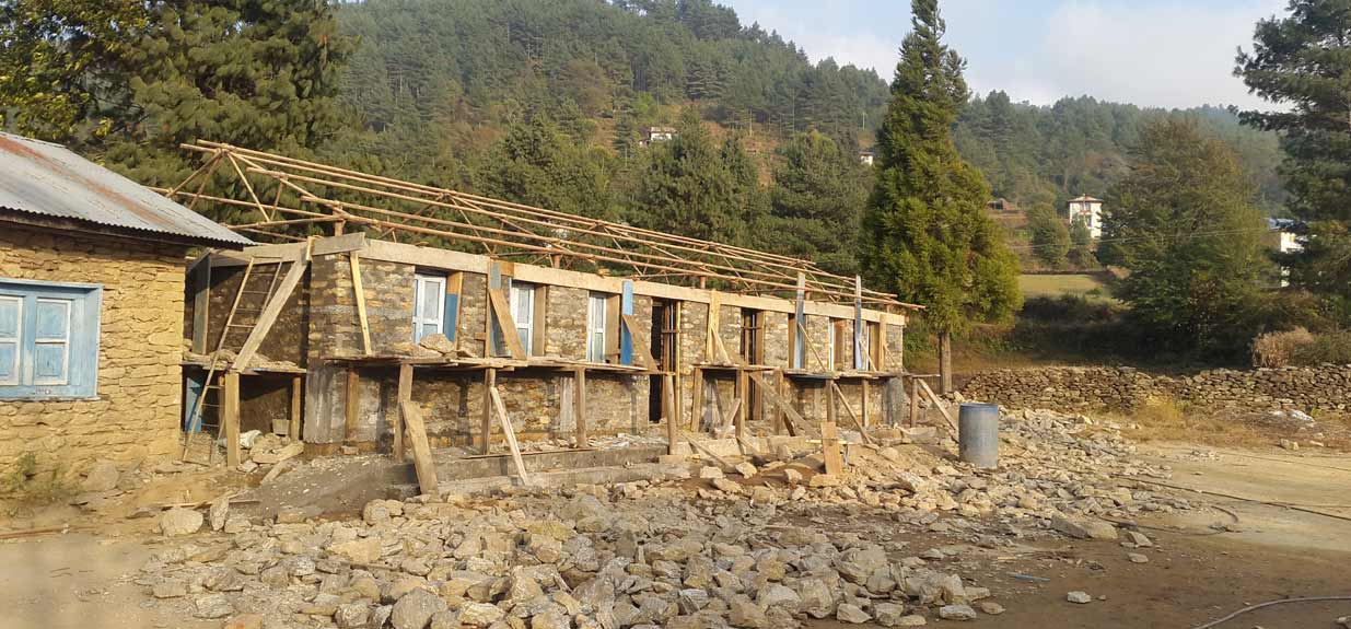 Davenport Campbell are working to rebuild schools in earthquake stricken Nepal.