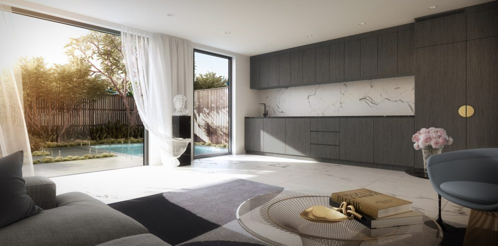 Verde's Point Luxe residential development in New Farm, Brisbane. Photo courtesy Verde.