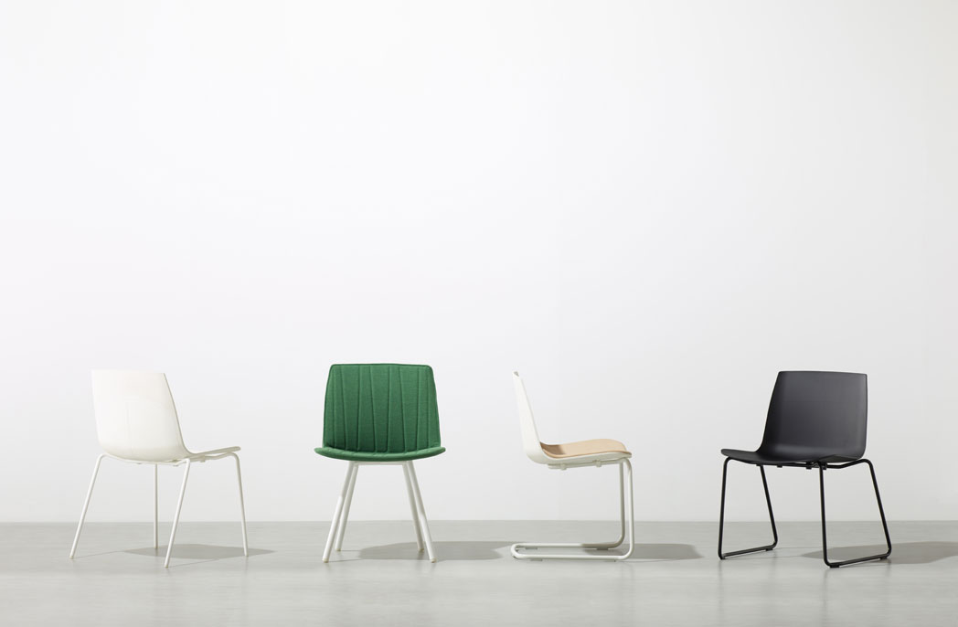 MR Chair: The plastic shell chair reinterpreted