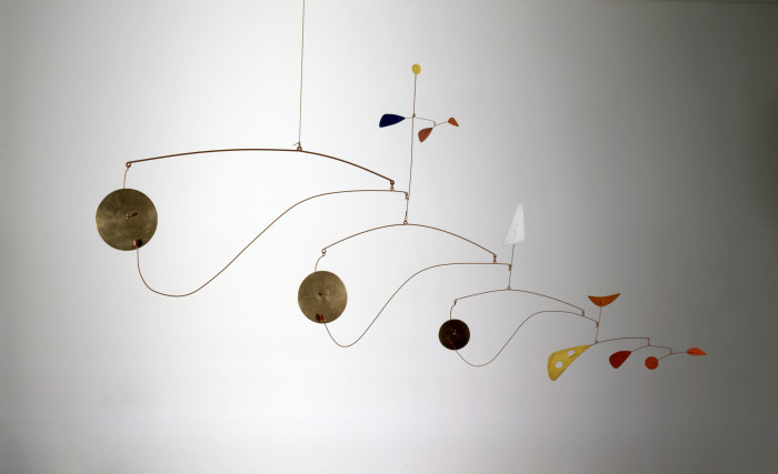 Triple Gong by Alexander Calder. Photo courtesy artnews.com/Calder Foundation/Artists Rights Society.