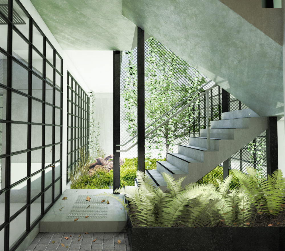 Nightingale 1 by Breathe Architecture. Render courtesy Breathe Architecture.