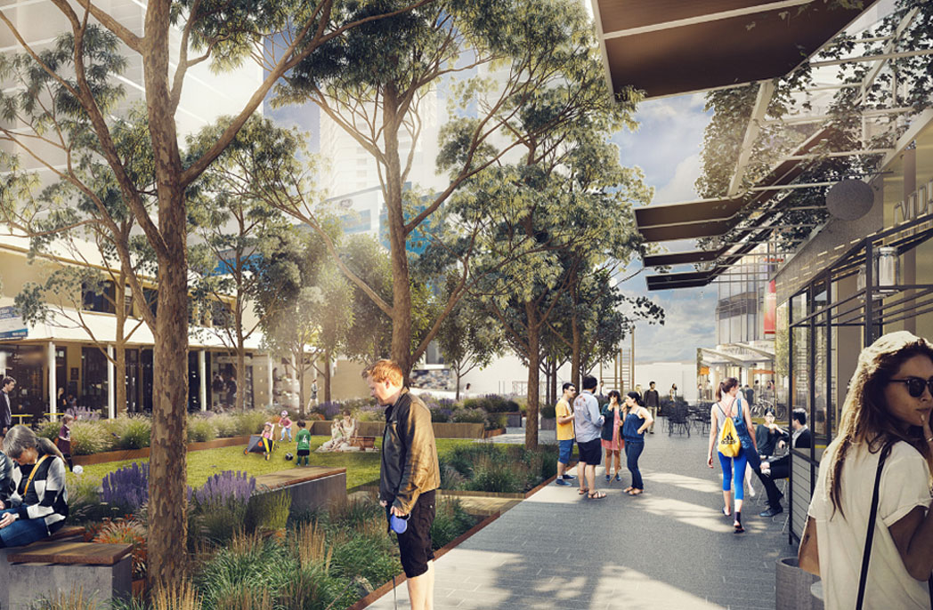 SJB Architects and Aspect Studios release first look at Parramatta Civic Link proposal