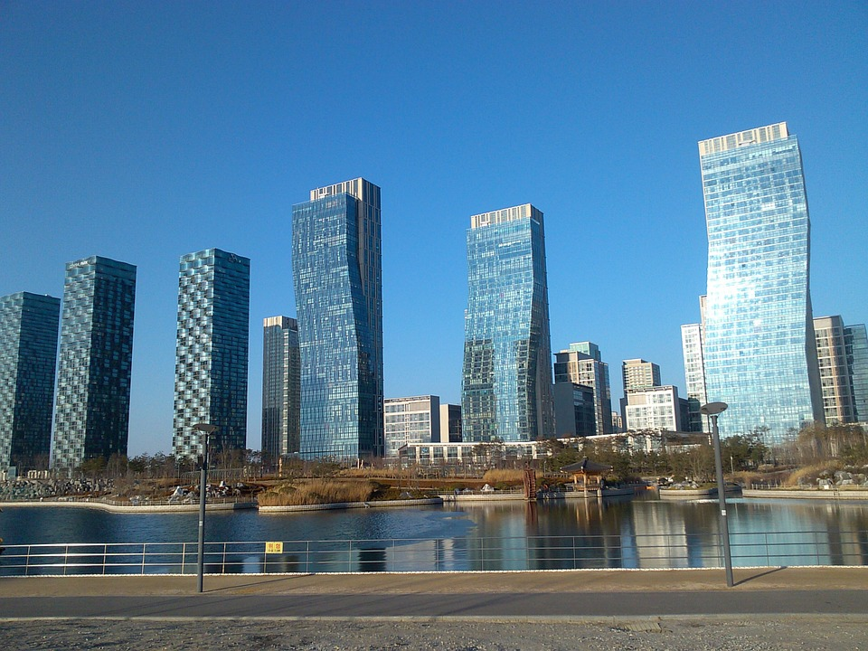 Songdo, South Korea. Photo courtesy Max Pixel.