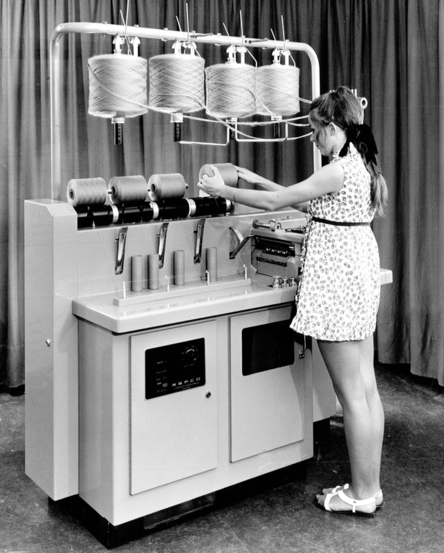 Australia's 1961 invention of the Repco self-twist wool spinning machine enormously increased wool output worldwide.