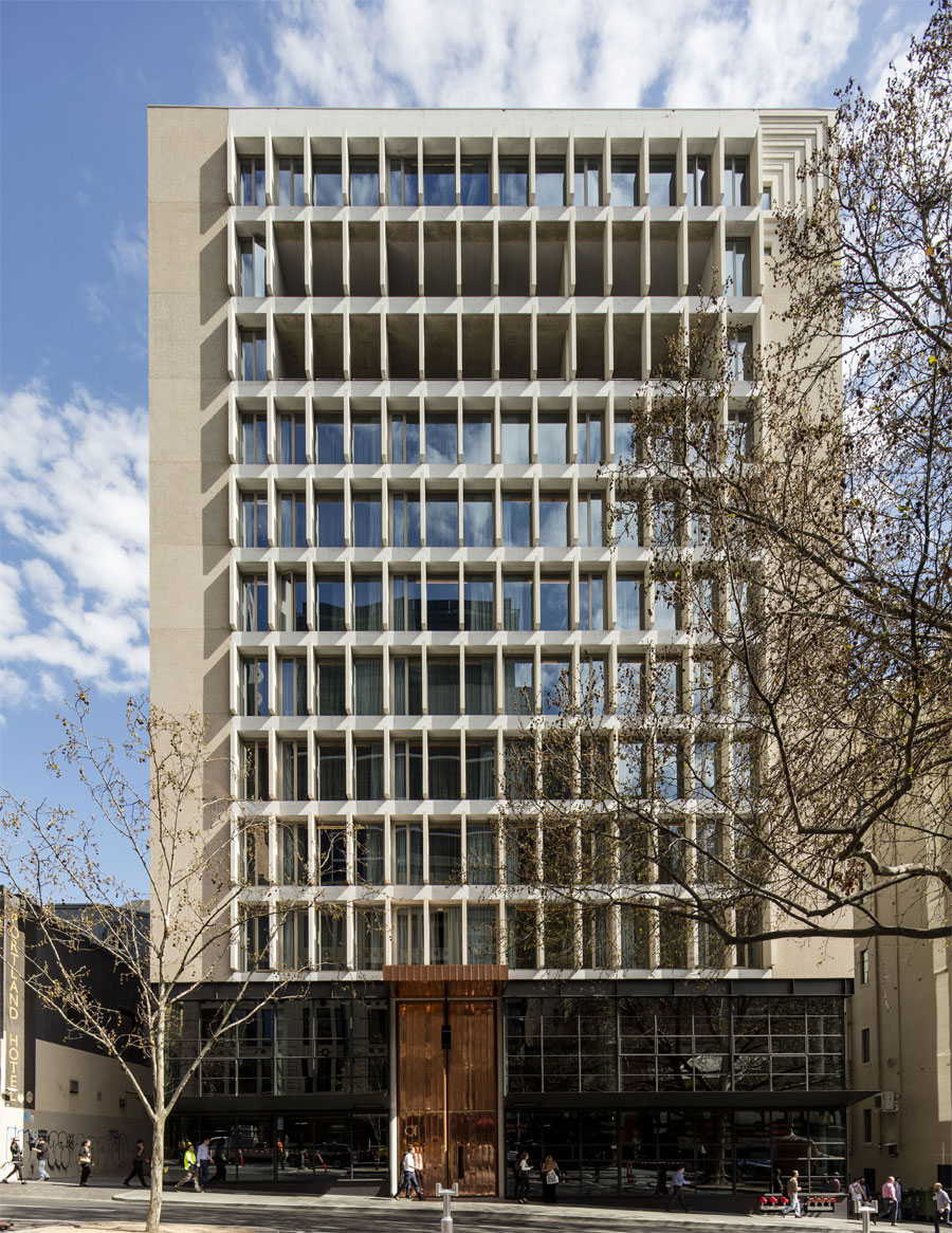 QT Melbourne by Candelapas Associates. Photo by Brett Boardman.