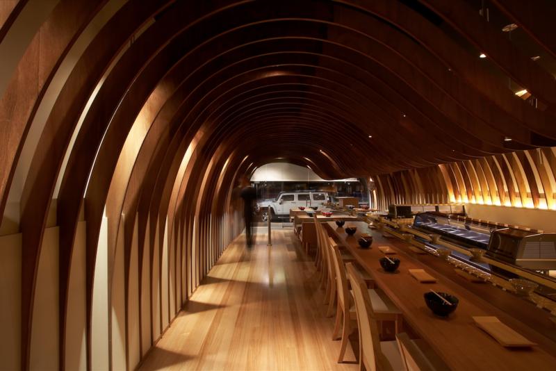 Cave restaurant by Koichi Takada Architects.