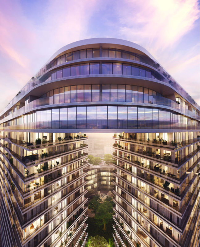 Infinity by Koichi Takada Architects. Render courtesy the architect.