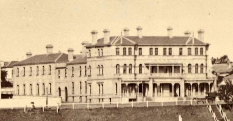The Espy, circa 1885. Image courtesy The National Library of Australia/Wikimedia Commons.