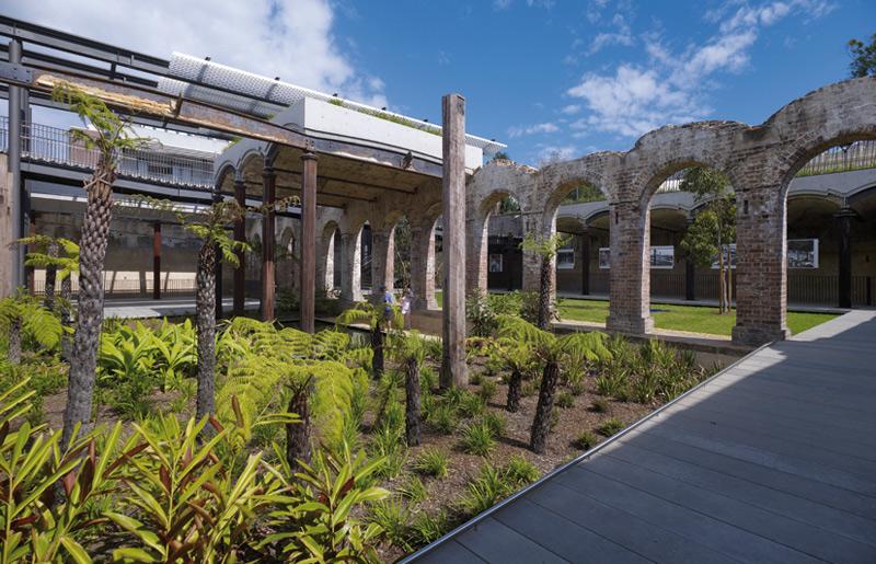 Paddington Resevoir Gardens by Tonkin Zulaikha Greer and James Mather Delaney Design. Photo by Brett Boardman.