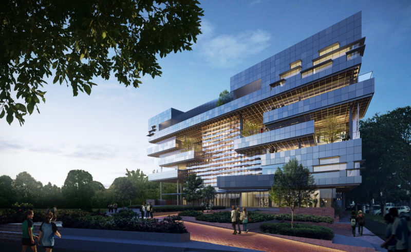 South Melbourne Primary School by Hayball. Render courtesy the architect.