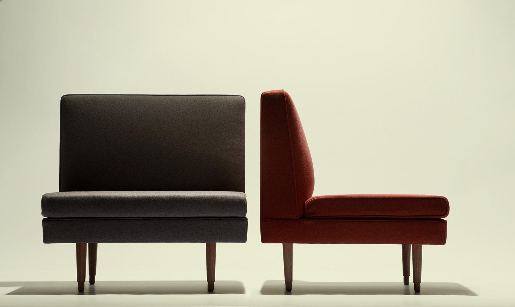 The Boyd-designed armchair.