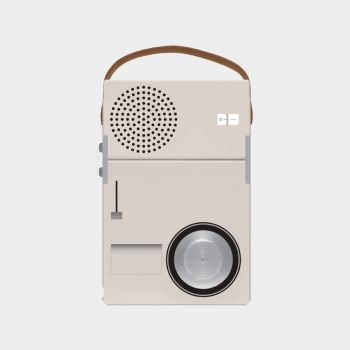 TP1 radio designed by Dieter Rams, 1959, for Braun.