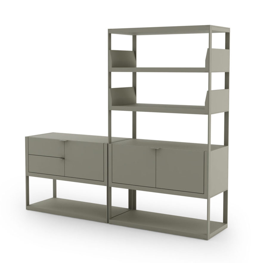 Lean Storage bookcase by MAP.