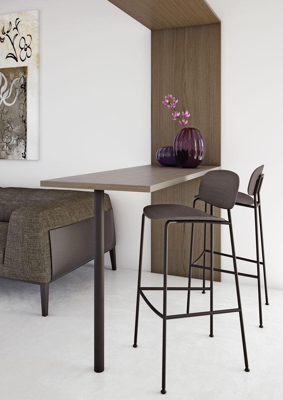 Tondina bar stool