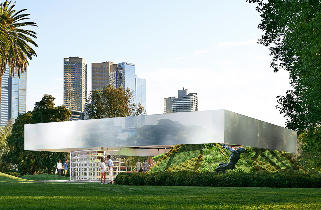 OMA unveils its design for MPavilion 2017