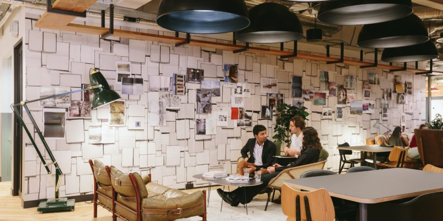 WeWork often takes its member feedback and integrates it into the design changes.