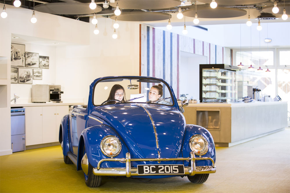Volkswagen HQ. Anna Breheny worked on this project while at Scott Brownrigg in the UK. Photo by Phillip Durrant.