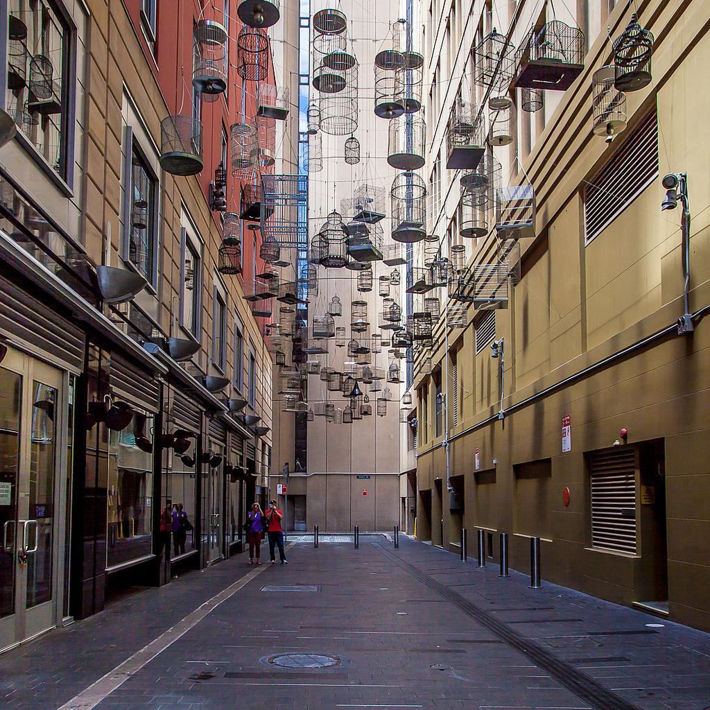 Angel Place, Sydney. Photo via Flickr: Scowak.