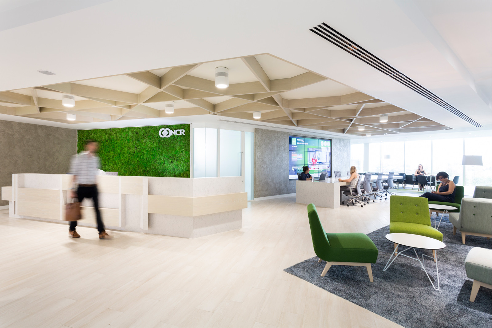 NCR, London uses biophilic design principles. Anna Breheny worked on this project while at Scott Brownrigg in the UK. Photo by Phillip Durrant.
