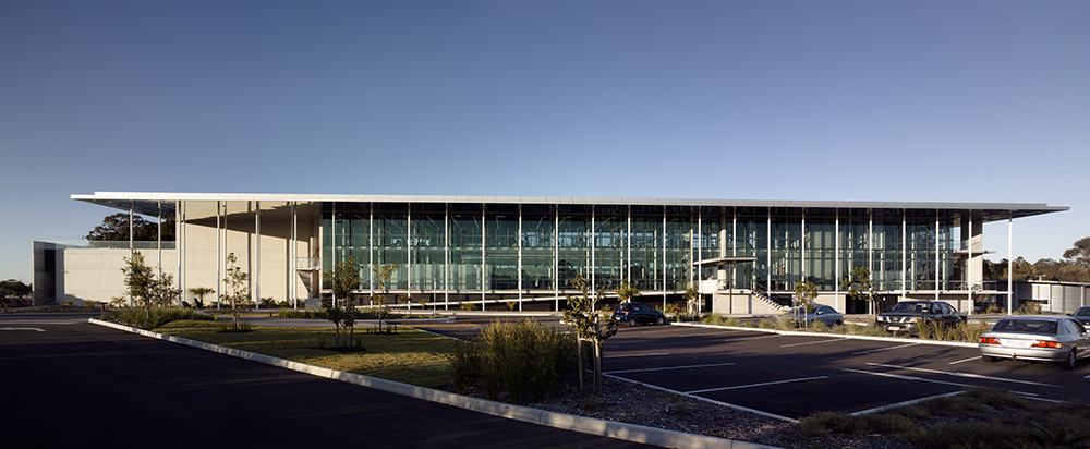 Shiro Architects' first completed project, the Gold Coast KDV Golf and Tennis Academy.