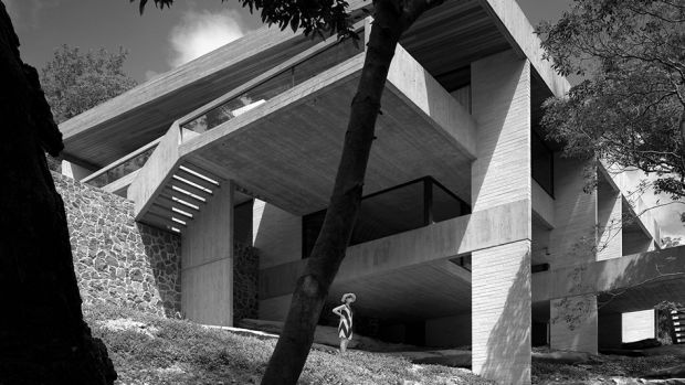 Harry and Penelope Seidler's house. Photo by Max Dupain.