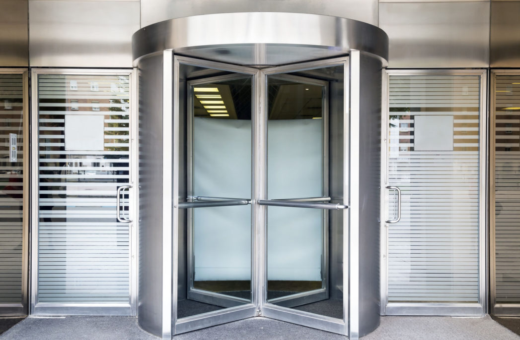 In a spin: the history of revolving doors
