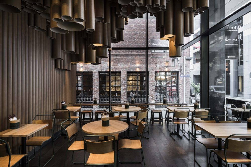 Grilld on Flinders Lane by Technē. Photo by Tom Blachford.