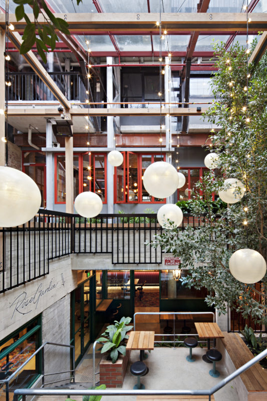 Garden State Hotel on Flinders Lane, by Technē.