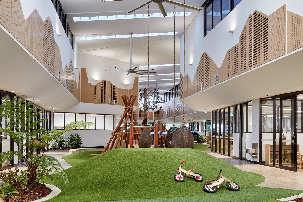 A tropical oasis childcare centre in the heart of Brisbane's CBD