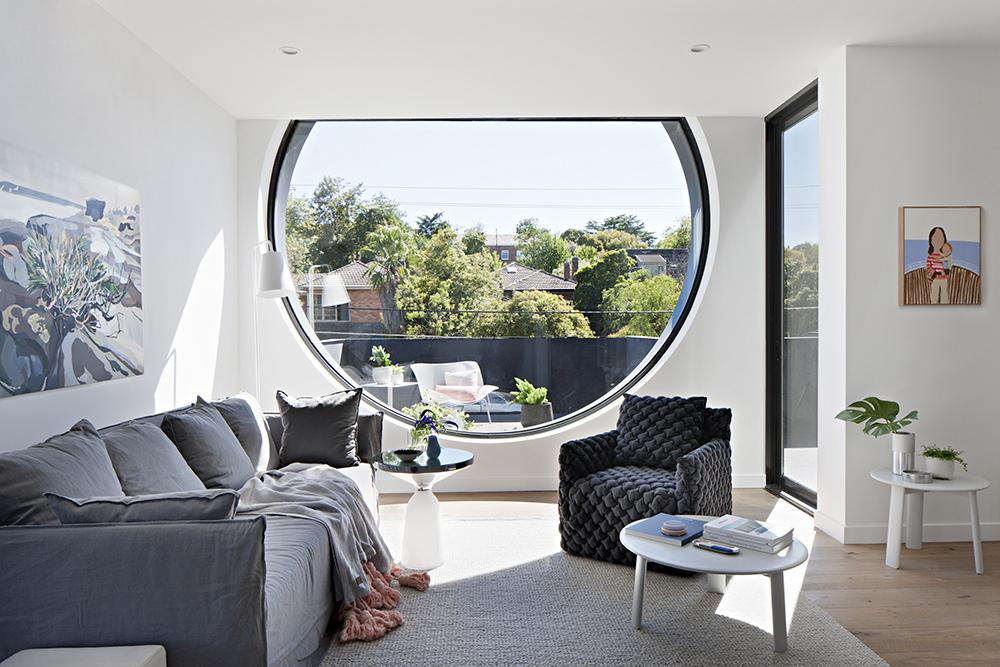 Cirqua Apartments by BKK Architects. Photo by Shannon McGrath.