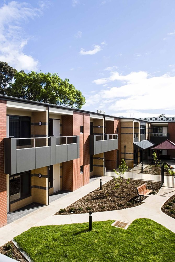 Clayton Church Homes Magill aged care by Matthews Architects. Photo courtesy the architect.