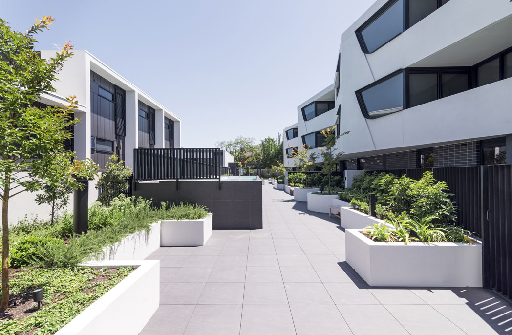 Creating a walkable residential precinct: SJB's Cantala