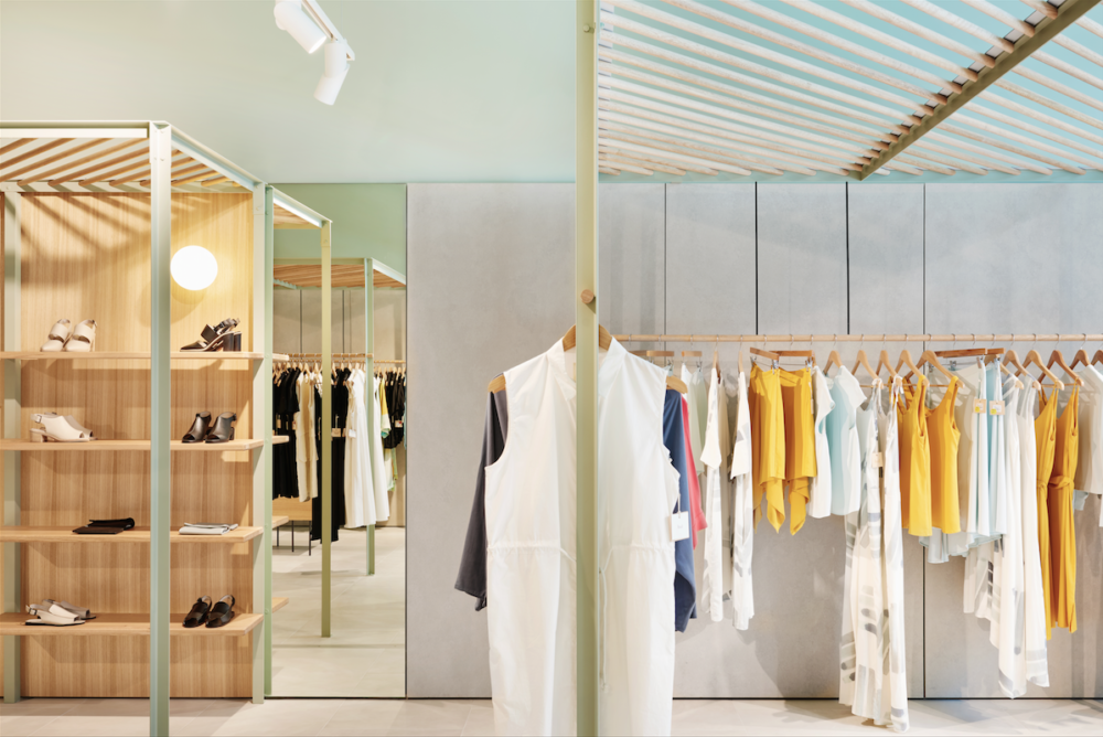 Búl store at Pacific Fair, Gold Coast, by Abernethy in collaboration with Mike Macleod.