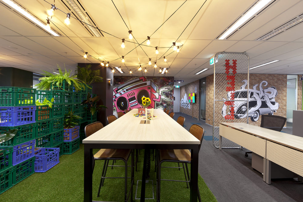 Google Melbourne by Siren Design. Photo by Yvonne Qumi.