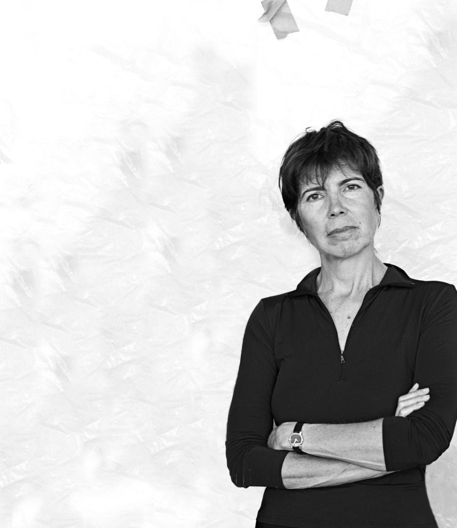Elizabeth Diller of New York based practice Diller, Scofidio + Renfro. Photo by Abelrado Morrell.