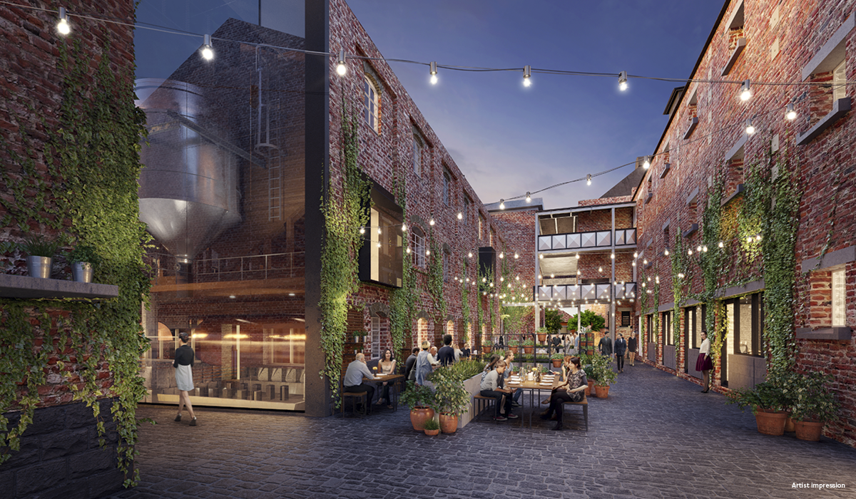 A render of the proposed development at The Malt District.