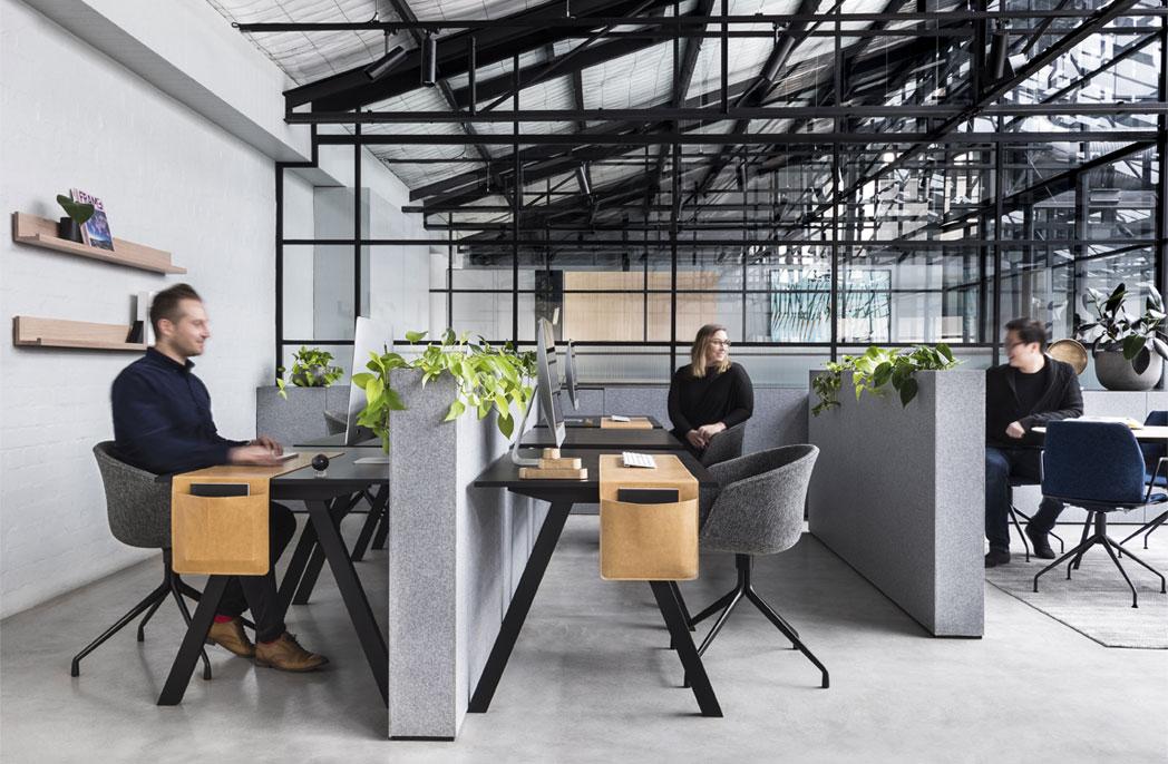 Inside 7 creative studios