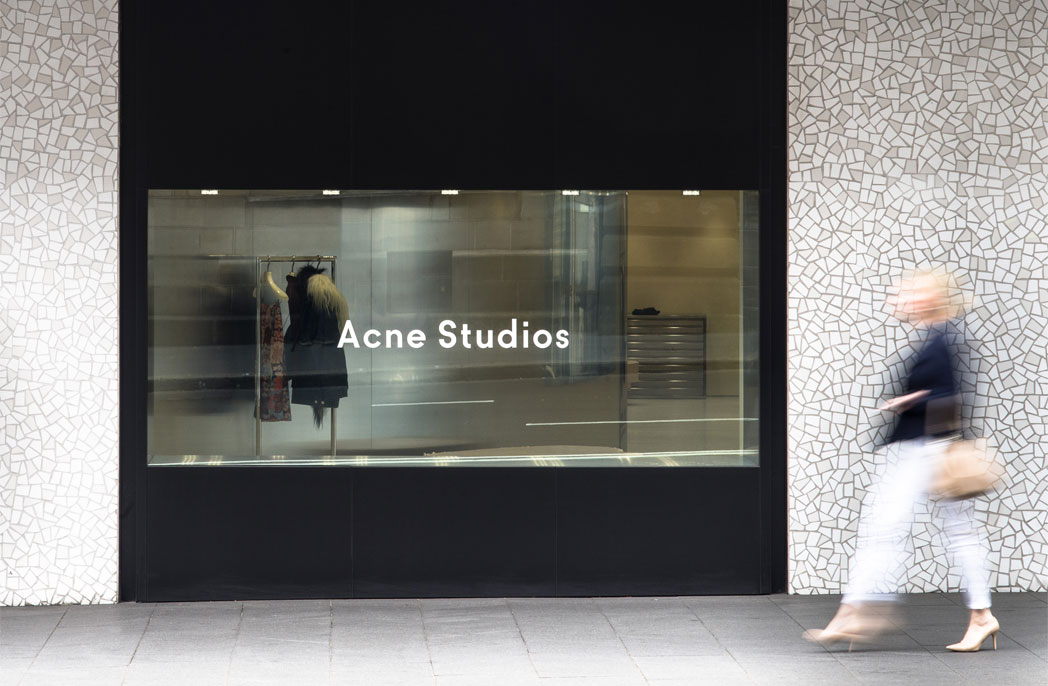Anti-retail: Acne Studios Sydney CBD