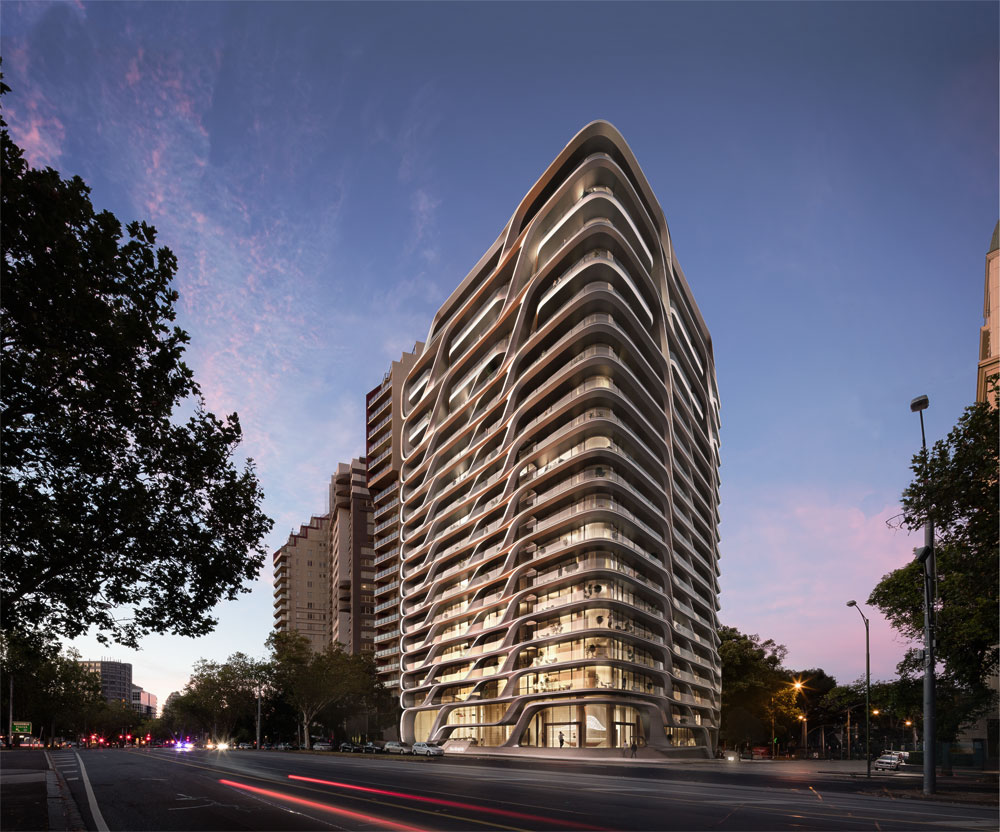 ZHA Mayfair tower Melbourne 2