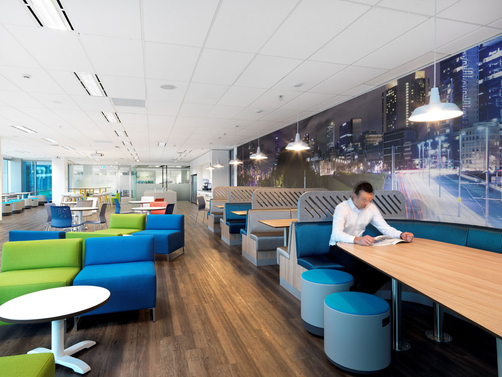 Ford office by Cachet Group.
