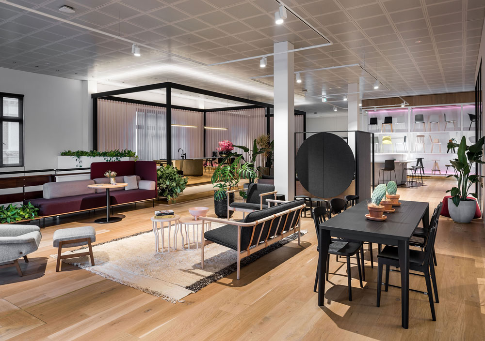 Stylecraft's new showroom in Perth by Woods Bagot 2