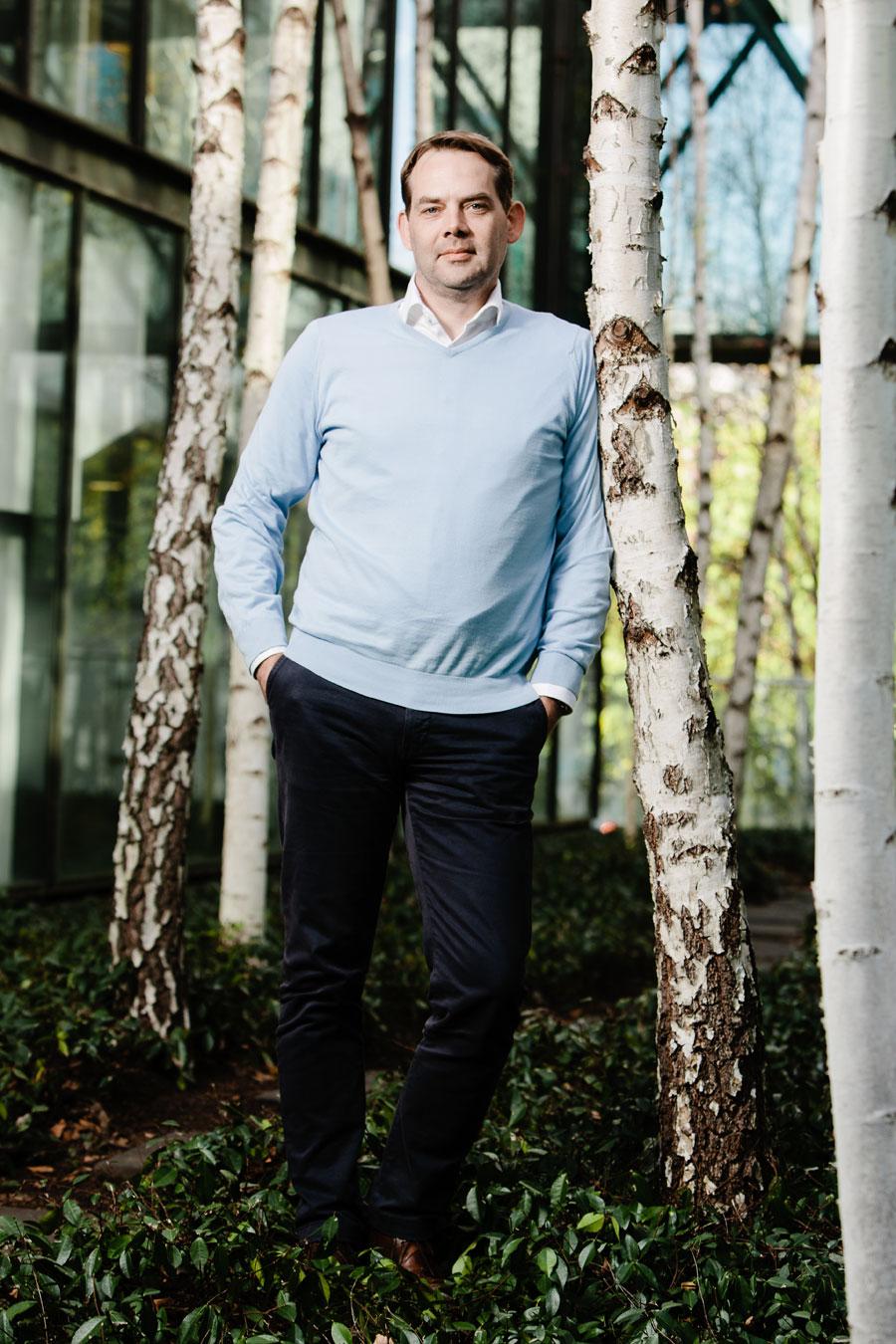 David Gianotten, managing partner at OMA