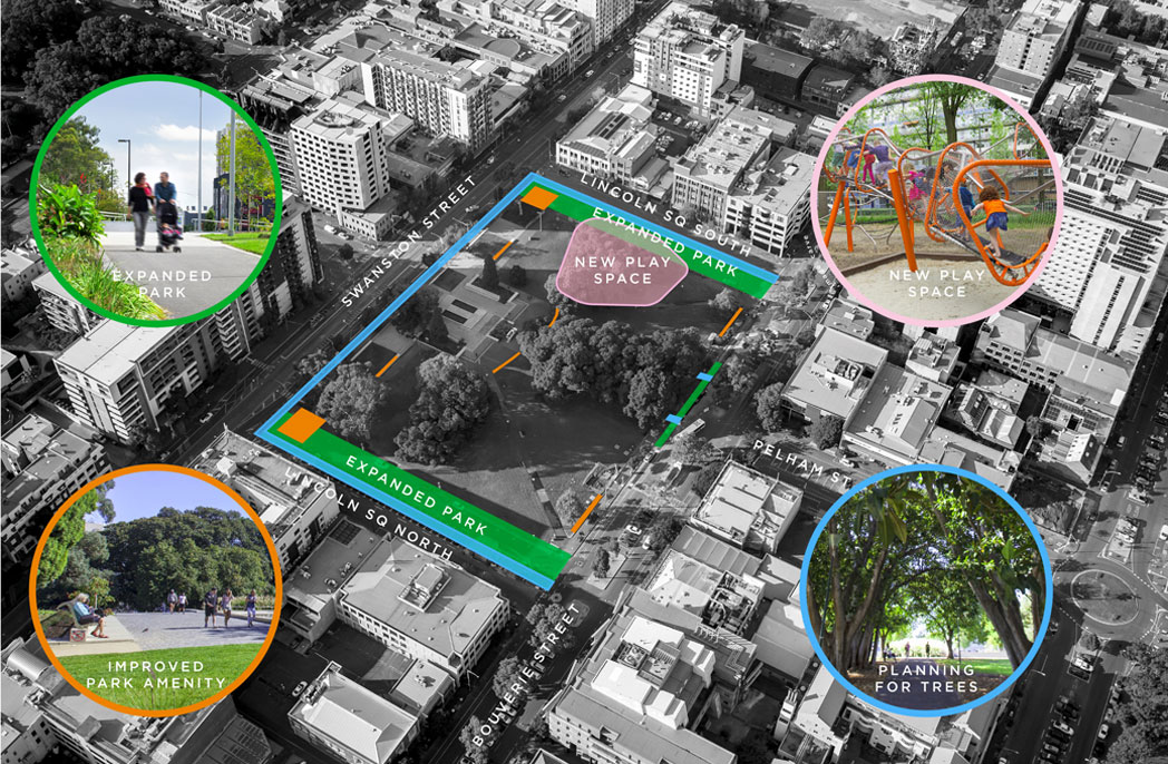 Community feedback on Melbourne's Lincoln Square