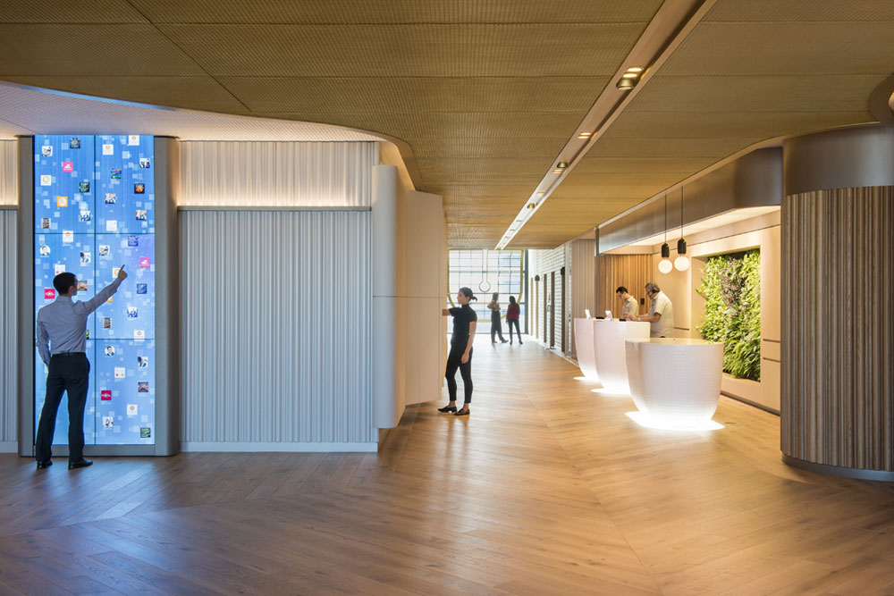Planar 441 is used in PwC's new workplace by Futurespace