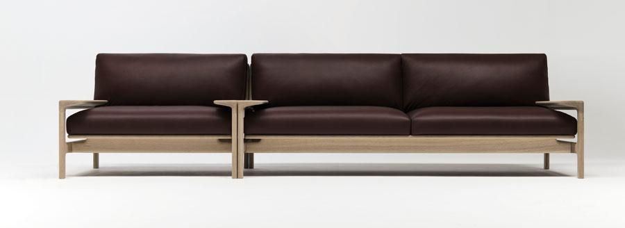 YUKAR sofa and armchair by Naoto Fukusawa for Conde House.