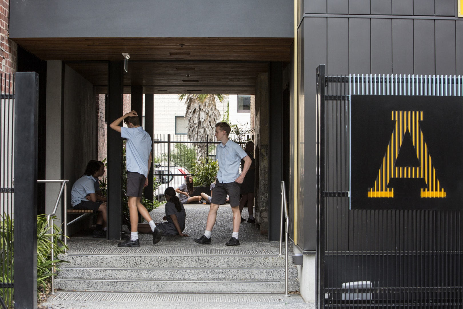 Educational Award – Albert Park College Hub by Six Degrees Architecture. Photo by Simon James.